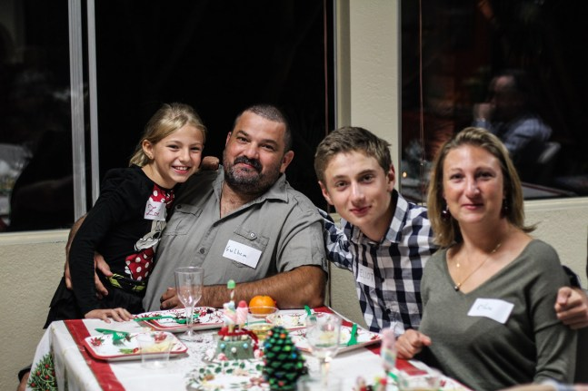 Friends from France - Campground Xmas Party