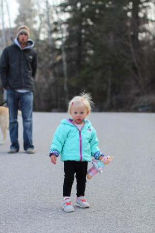 Ry going for a walk at the lake