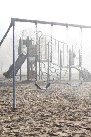 Foggy swings