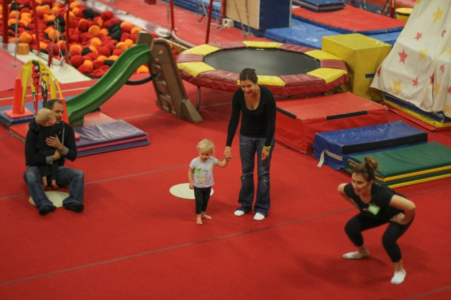 Gymnastics with Mom