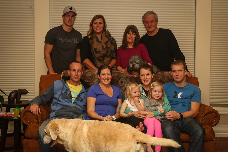 Josh's family
