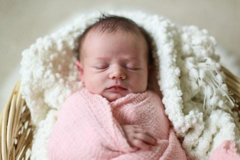 Sleeping baby, is a good baby. Newborn photo shoot