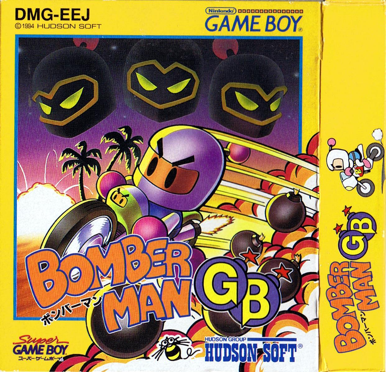 BOMBERMAN GB information  Rageys Totally Bombastic