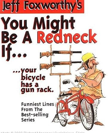 'You might be a redneck if your bicycle has a gun rack' photo (c) 2008, Richard Masoner / Cyclelicious - license: http://creativecommons.org/licenses/by-sa/2.0/