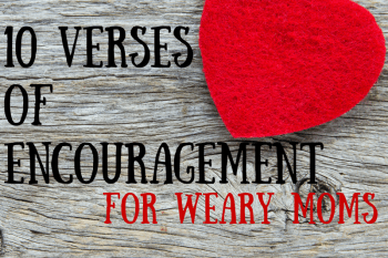verses of encouragement