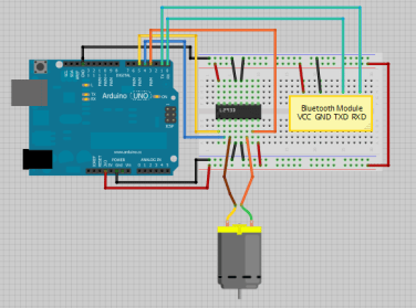 Arduino - Control DC Motor via Bluetooth | Random Nerd Tutorials on 4 pin trailer lights, 71 ford ignition switch diagram, 4-way trailer light diagram, 7 pin trailer connector diagram, 4 pin wire connector, 4 pin trailer connector,