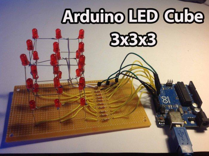 Arduino led cube x random nerd tutorials