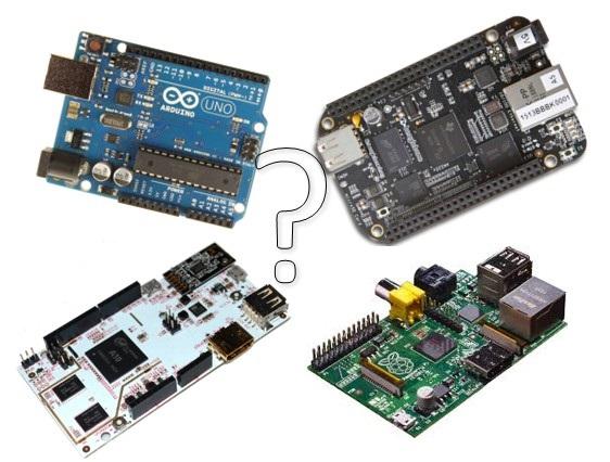 Arduino vs Raspberry Pi vs BeagleBone vs PCDuino | Random