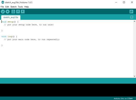 Arduino IDE screenshot