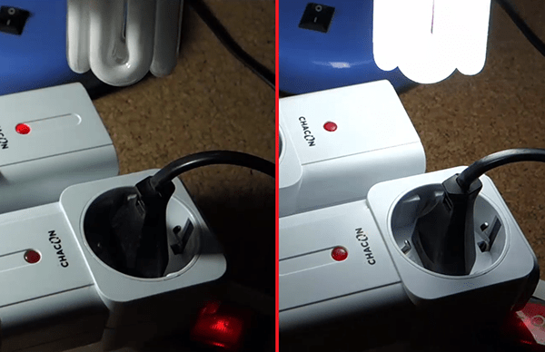 on and off sockets