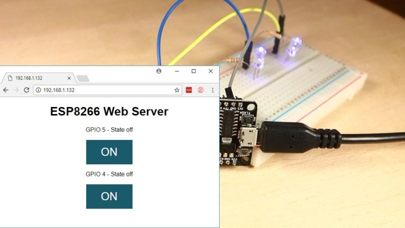 ESP8266 Web Server with Arduino IDE | Random Nerd Tutorials