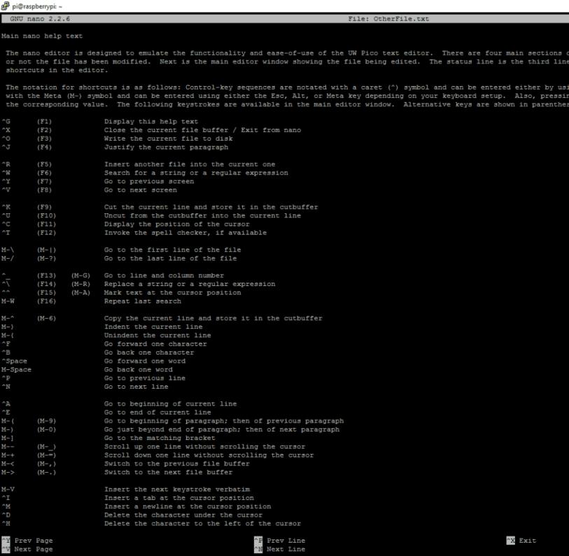 Learning Basic Linux Commands - Raspberry Pi Cheat Sheet