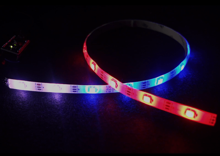 Guide for WS2812B Addressable RGB LED Strip with Arduino | Random