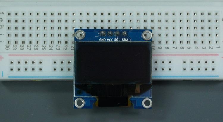 SSD1306 I2C OLED display