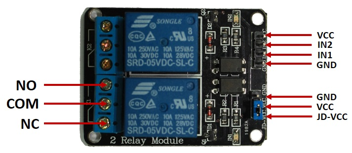 guide for relay module with arduino random nerd tutorials Fan Relay Wiring Diagram