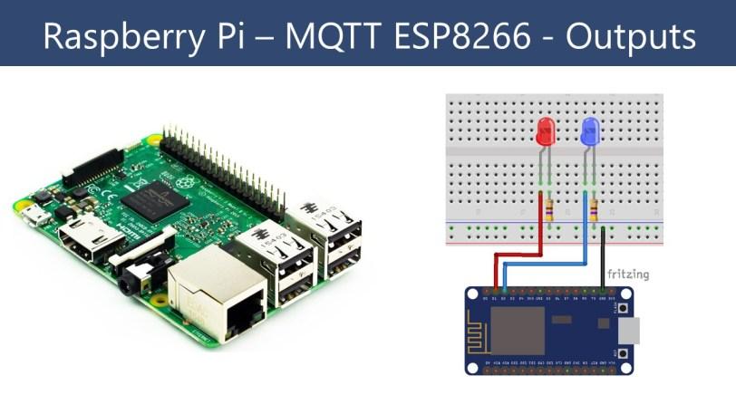 Raspberry Pi Publishing MQTT to ESP8266 | Random Nerd Tutorials