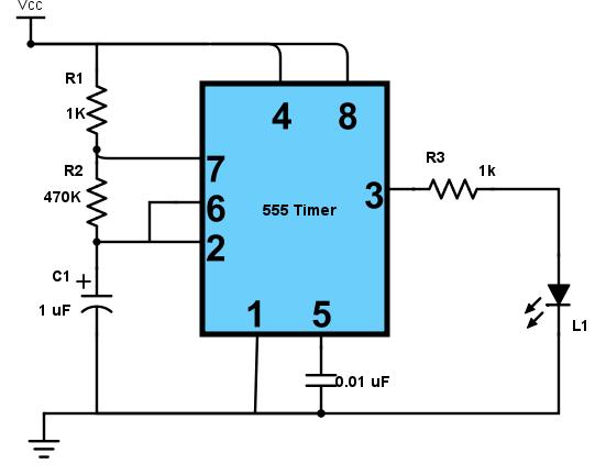 introducing 555 timer ic tutorial random nerd tutorials rh randomnerdtutorials com 555 Timer Chip Diagram ne555 timer wiring diagram