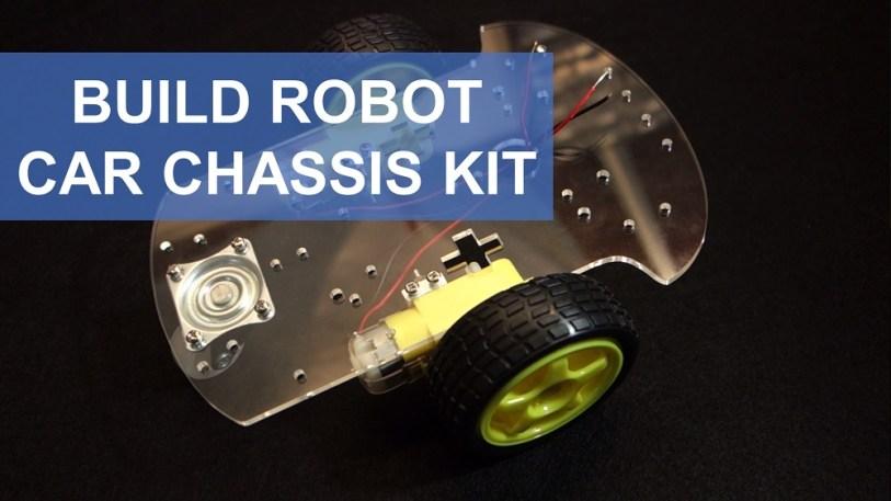Build Robot Car Chassis Kit Arduino | Random Nerd Tutorials