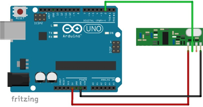 Decode and Send 433 MHz RF Signals with Arduino | Random