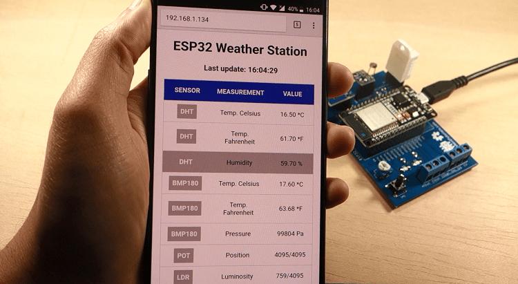 All-in-One ESP32 Weather Station Shield | Random Nerd Tutorials