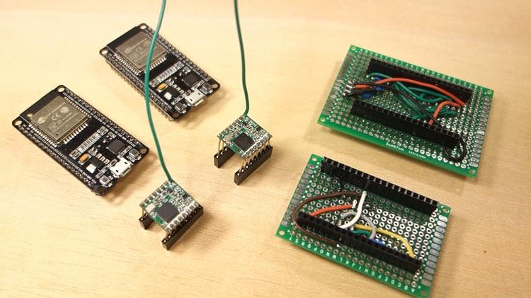 ESP32 với LoRa sử dụng Arduino IDE - Bắt đầu - Sáng tạo Việt