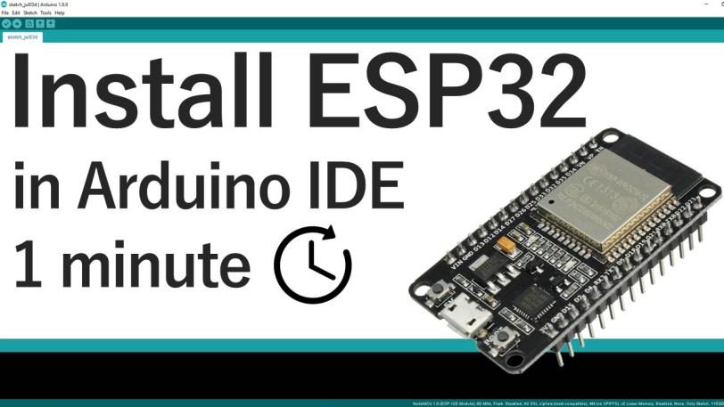 Installing ESP32 in Arduino IDE (Windows, Mac OS X, Linux