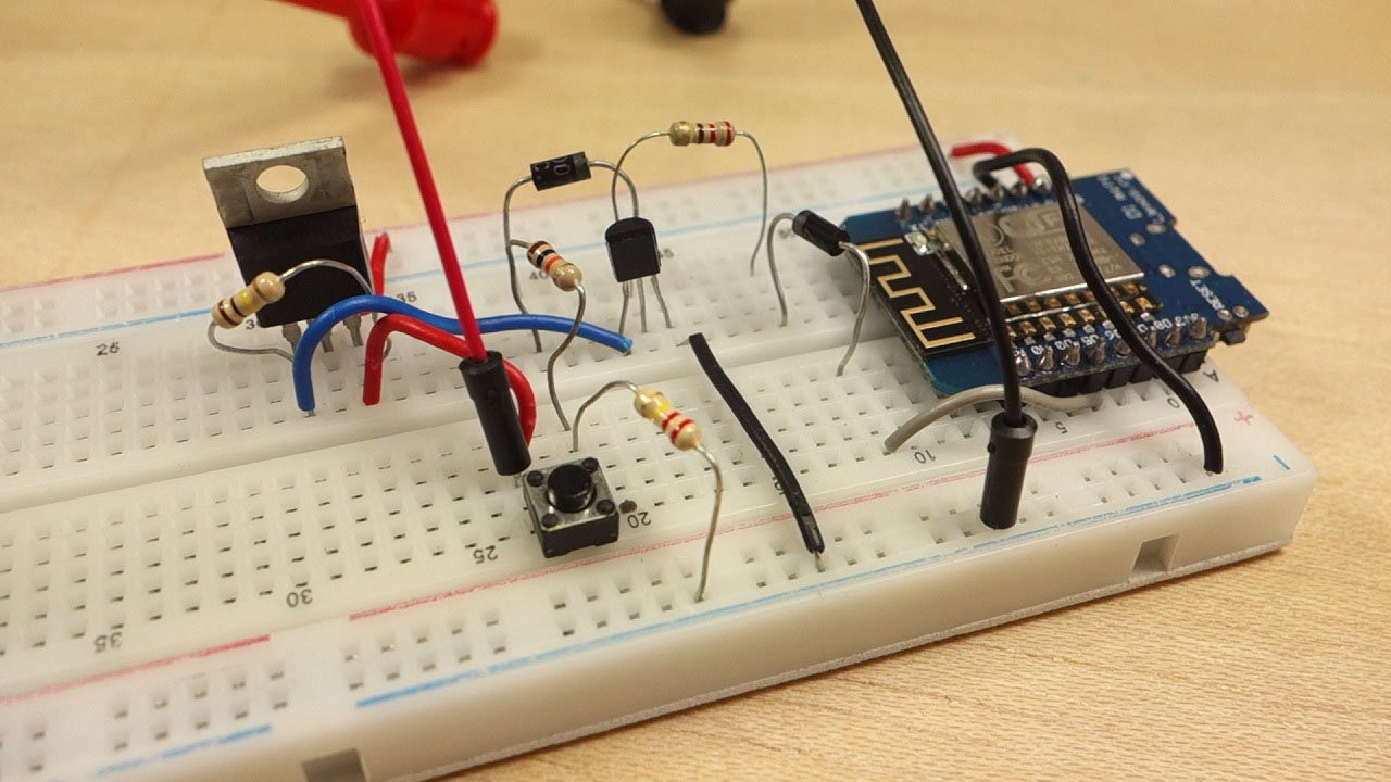 Latching Power Switch Circuit Auto Off Random Nerd Relay Circuits By Photo Transistor Electronic Projects This Allows You To Cut Completely When The Microcontroller Is Not Executing Any Task In Other Words As Soon