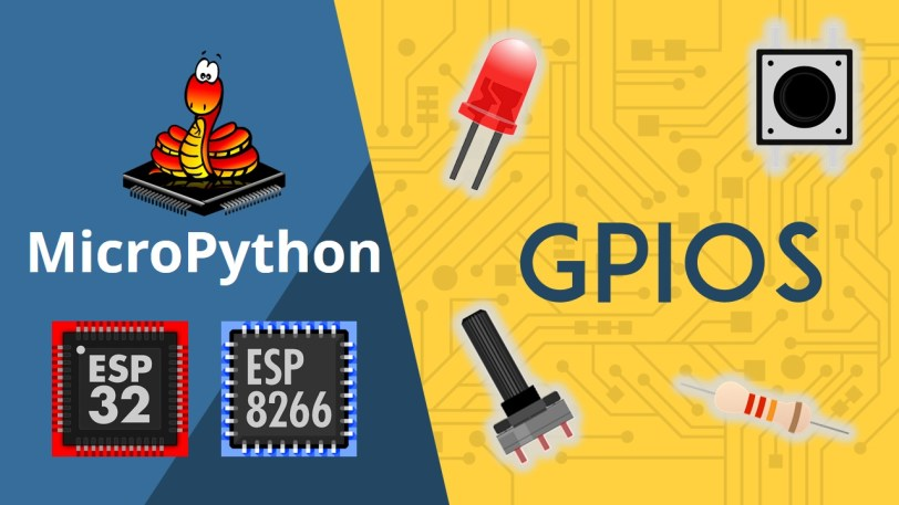MicroPython with ESP32 and ESP8266: Interacting with GPIOs | Random