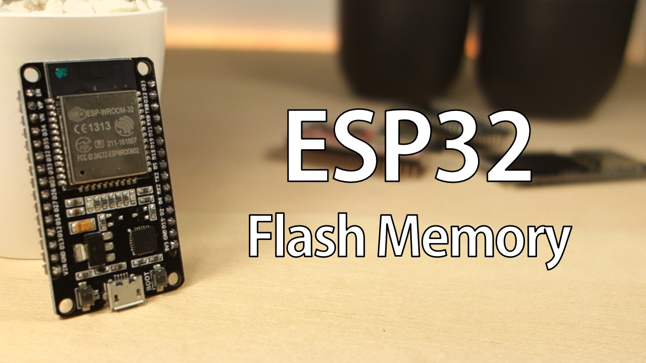 Save permanent data on the ESP32 flash memory