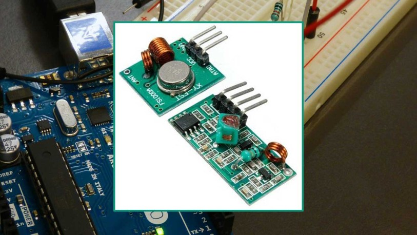 Rf 433mhz Transmitter Receiver Module With Arduino Random