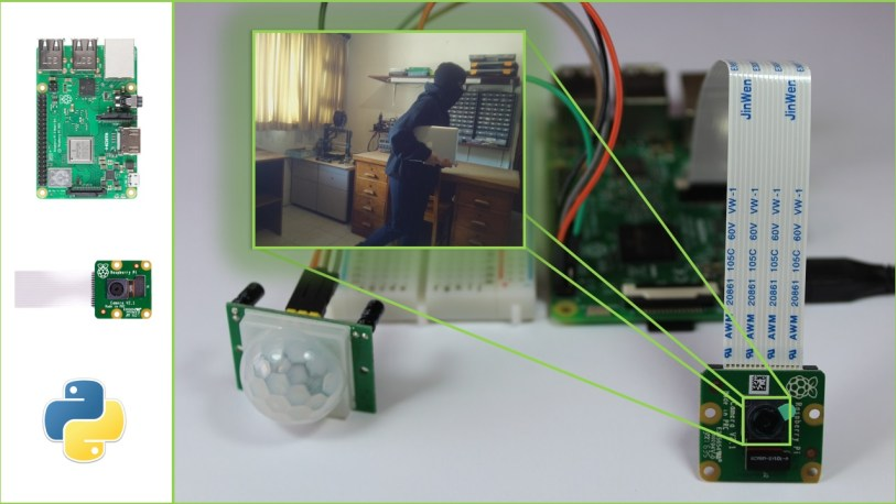 Raspberry Pi Motion Detector with Photo Capture | Random