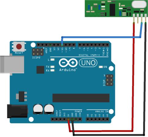 RF 433MHz Transmitter/Receiver Module With Arduino | Random Nerd