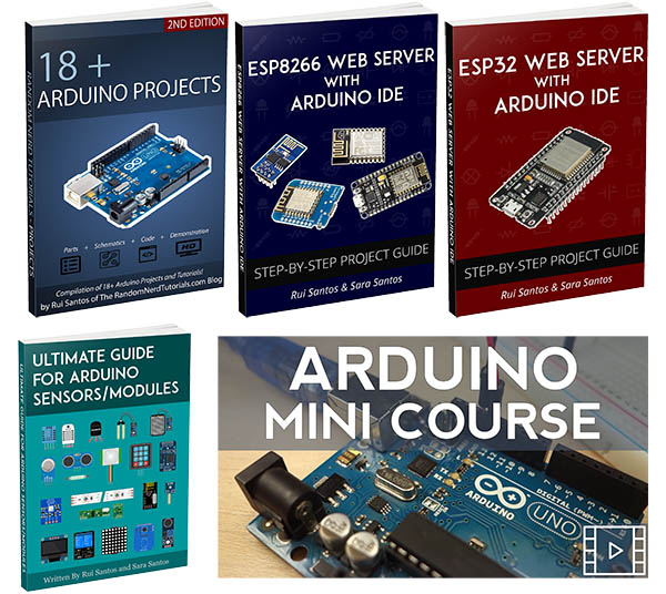 Download Our Free Electronics Ebooks And Resources Random Nerd Tutorials