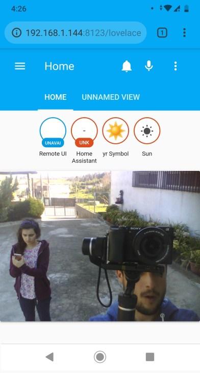 ESP32-CAM camera board surveillance IP Cam home assistant