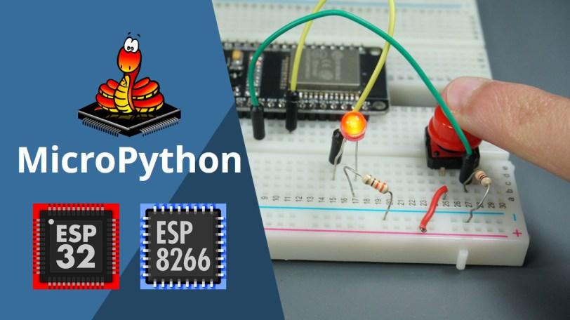 esp32 esp8266 micropython inputs and outputs