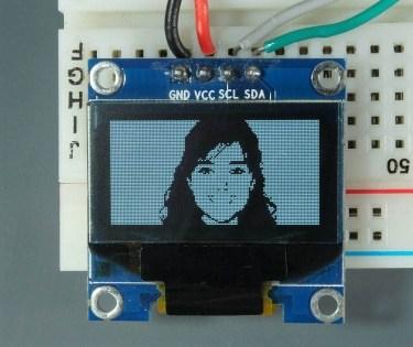 ESP32 ESP8266 Arduino OLED Display Image