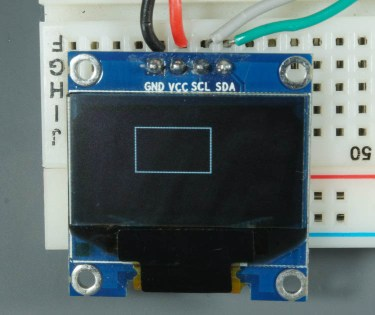ESP32 ESP8266 Arduino OLED Display Rectangle