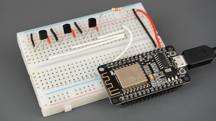 DS18B20 Multiple Sensors with ESP8266