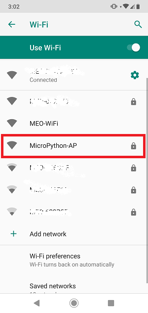 Connecting to ESP32 or ESP8266 Access Point (AP) using MicroPython