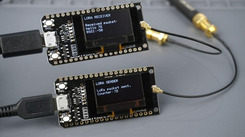 TTGO LoRa32 OLED SX1276 Board: Getting Started with Arduino IDE