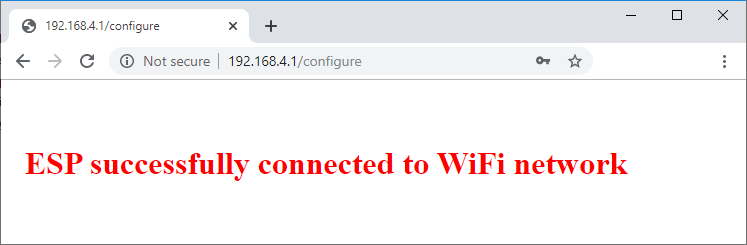 ESP32 successfully connected to Wifi Network - WiFiManager