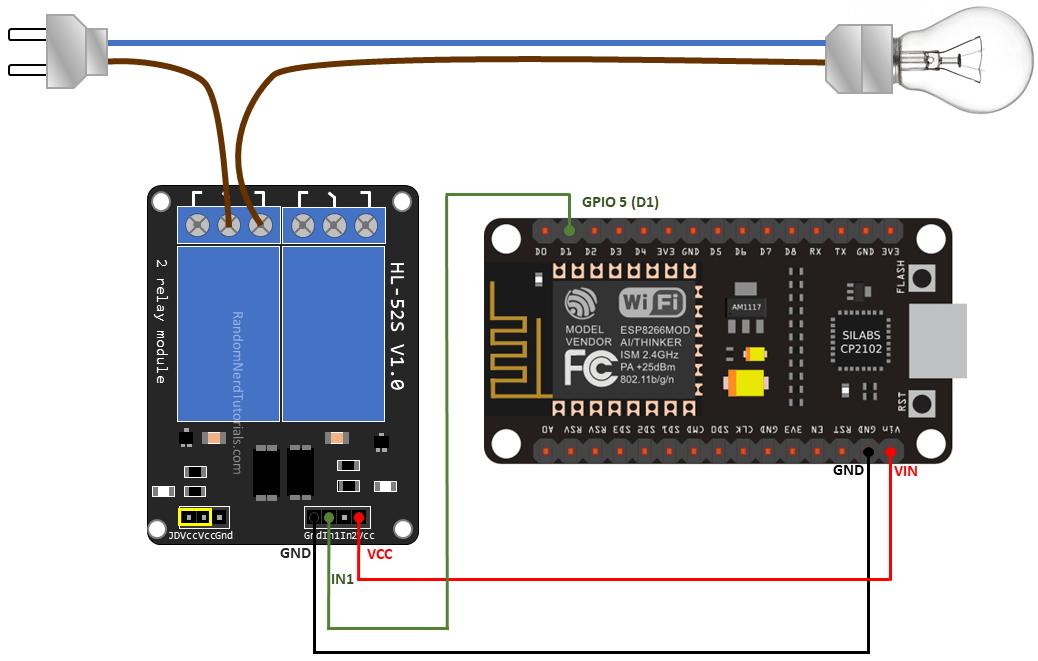 Esp8266 Nodemcu Relay Module