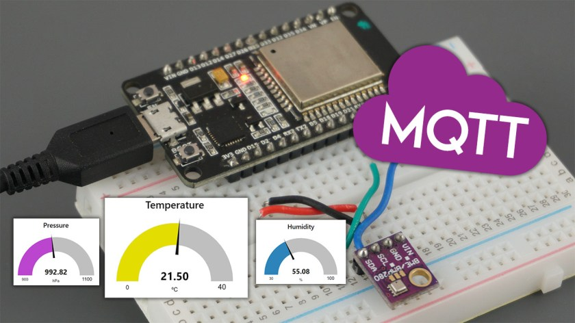 ESP32 MQTT Publish BME280 Sensor Readings Arduino IDE