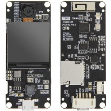 T-Camera Plus Pins GPIO