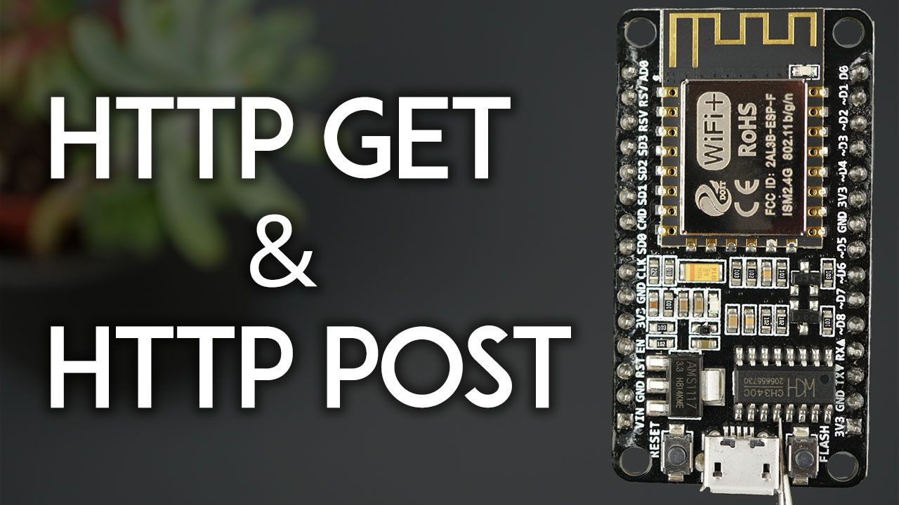 ESP8266 NodeMCU HTTP GET and HTTP POST with Arduino IDE JSON URL Encoded Text