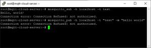 Installing Mosquitto MQTT Broker on Linux Ubuntu