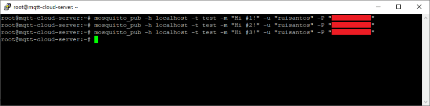 Cloud Mosquitto MQTT Broker Publish MQTT Message Topic to ESP32 ESP8266 NodeMCU