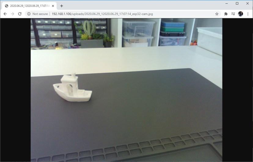 ESP32-CAM Upload Photo or Image to Server PHP Arduino IDE