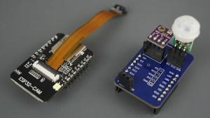 ESP32-CAM AI Thinker Module Shield PCB Parts Components Mounted