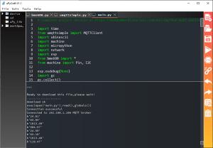 MicroPython ESP32 ESP8266 NodeMCU Testing MQTT Publish BME680 Sensor Readings